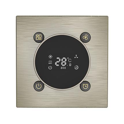 逸简KNX智能旋钮空调温控面板(EJMT1)