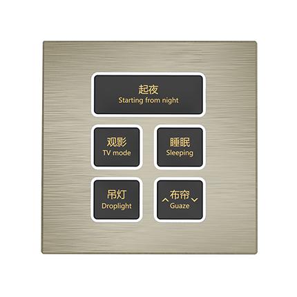 逸简系列KNXv片官网面板(EJM5)